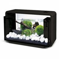 Nano akvárium biotop  De luxe 25 l  černé