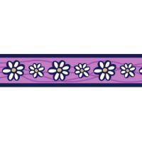 Ob. polos RD 25 mm x 41-62 cm - Daisy Chain Purple