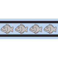 Obojek pro kočky reflexní 20 - 32 cm - světle modrý