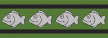 Obojek pro kočky reflexní 20 - 32 cm - zelený