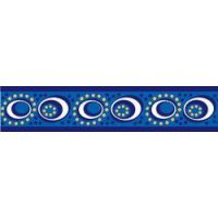 Obojek RD 12 mm x 20-32 cm - Cosmos Blue