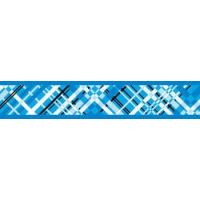 Obojek RD 12 mm x 20-32 cm - Flanno Turquoise