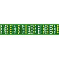 Obojek RD 12 mm x 20-32 cm - Lotzadotz Green