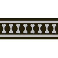 Obojek RD 20 mm x 30-47 cm - Bones Rfx - Černá