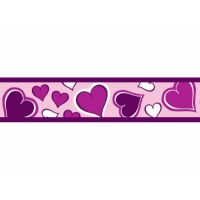 Obojek RD 25 mm x 41-63 cm - Breezy Love Purple