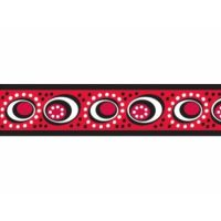 Obojek RD 25 mm x 41-63 cm - Cosmos Red