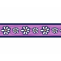 Obojek RD 25 mm x 41-63 cm - Daisy Chain Purple