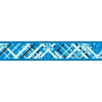 Obojek RD 25 mm x 41-63 cm - Flanno Turquoise