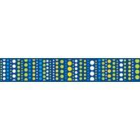 Obojek RD 25 mm x 41-63 cm - Lotzadotz Blue
