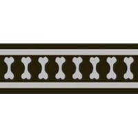 Obojek RD 40 mm x 37-55 cm - Bones Rfx - Černá