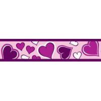 Obojek RD 40 mm x 37-55 cm - Breezy Love Purple
