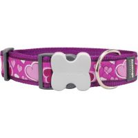Obojek RD 40 mm x 50-80 cm - Breezy Love Purple