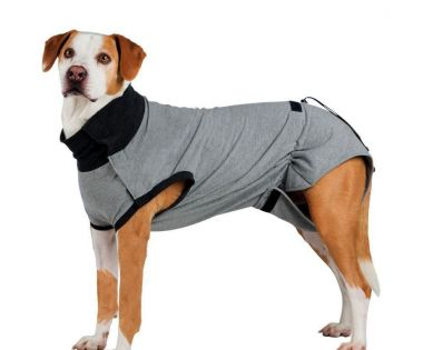 Ochranný obleček na trup po operaci S 35 cm šedý