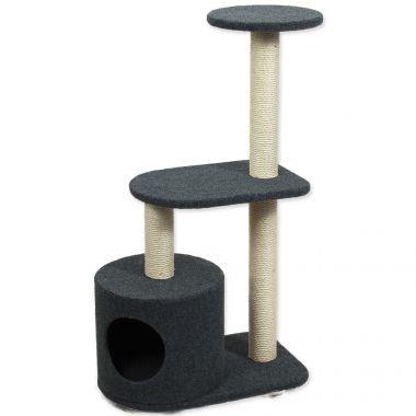Odpočívadlo MAGIC CAT Renata koberec šedé 95 cm (1ks)