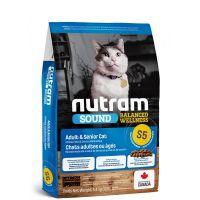 S5 Nutram Sound Adult/Senior Cat - pro dospělé a starší kočky 5,4kg