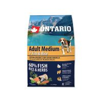 ONTARIO Adult Medium Fish & Rice (2,25kg)