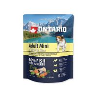 ONTARIO Adult Mini Fish & Rice (0,75kg)