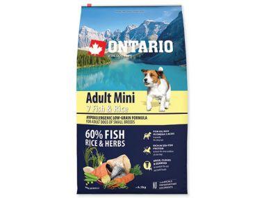 ONTARIO Adult Mini Fish & Rice (6,5kg)