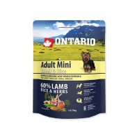 ONTARIO Adult Mini Lamb & Rice (0,75kg)