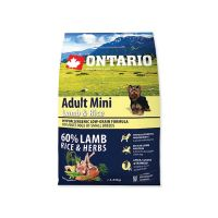ONTARIO Adult Mini Lamb & Rice (2,25kg)