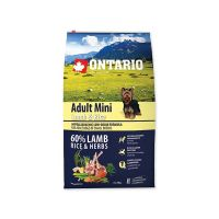 ONTARIO Adult Mini Lamb & Rice (6,5kg)