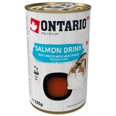 ONTARIO Cat Drink Salmon (135g)