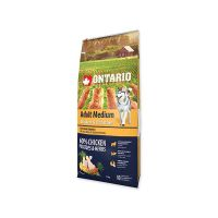 ONTARIO Dog Adult Medium Chicken & Potatoes & Herbs 12  kg