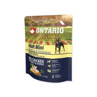 ONTARIO Dog Adult Mini Chicken & Potatoes & Herbs (0,75kg)