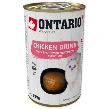ONTARIO Kitten Drink Chicken (135g)