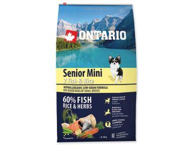 ONTARIO Senior Mini Fish & Rice (6,5kg)