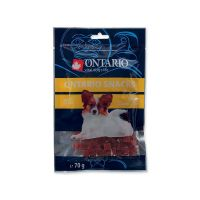 ONTARIO Snack Duck Dice Small dog (70g)