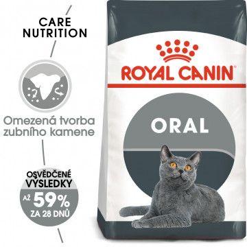 Royal Canin Oral Care granule pro kočky snižující tvorbu zubního kamene 0,4