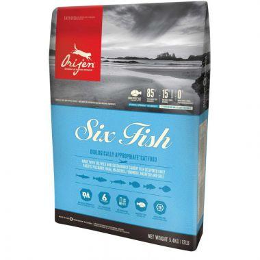 ORIJEN six  fish Cat 5,4 kg