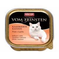 Paštika ANIMONDA Vom Feinstein Castrate krůtí + losos (100g)