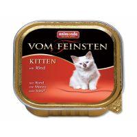 Paštika ANIMONDA Vom Feinsten kitten hovězí (100g)