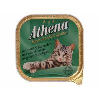 Paštika Athena divočina + králík   (100g)