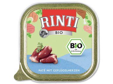 Paštika RintiBio drůbeží srdíčka   (150g)