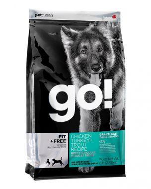 PetCurean GO Fit + Free Grain Free 2,72 kg