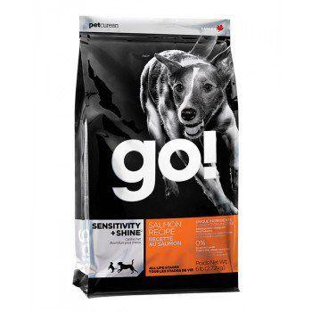PetCurean GO Sensitive + Shine Salmon 11,33 kg