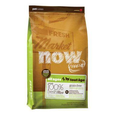 PetCurean NOW FRESH Grain Free Small Breed 2 x 5,44 kg