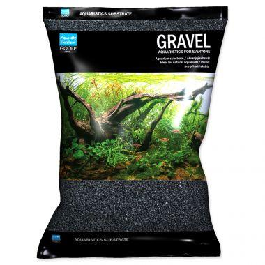 Písek AQUA EXCELLENT 1,6-2,2 mm černý (3kg)
