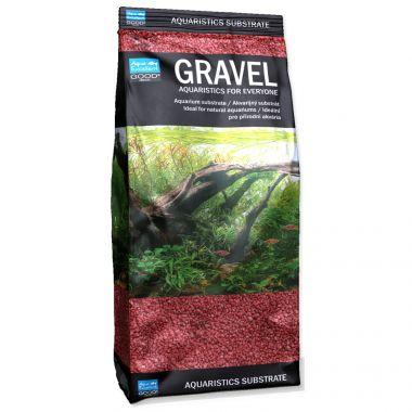 Písek AQUA EXCELLENT 1,6-2,2 mm červený (1kg)