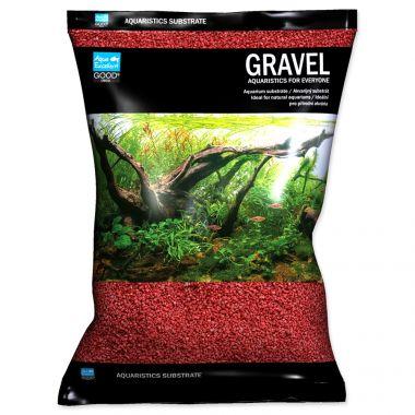 Písek AQUA EXCELLENT 1,6-2,2 mm červený (3kg)
