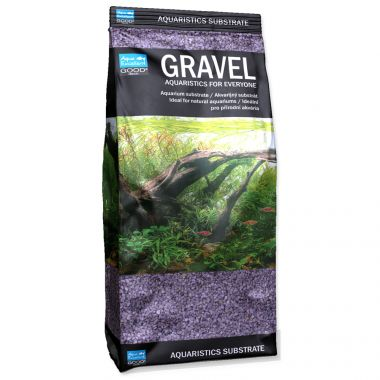 Písek AQUA EXCELLENT 1,6-2,2 mm svítivě fialový (1kg)