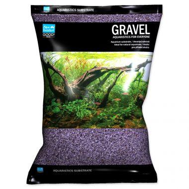 Písek AQUA EXCELLENT 1,6-2,2 mm svítivě fialový (3kg)