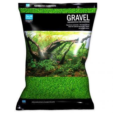 Písek AQUA EXCELLENT 1,6-2,2 mm svítivě zelený (3kg)