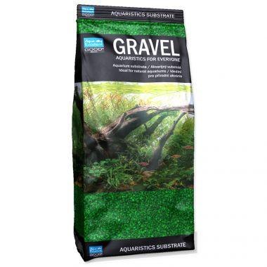 Písek AQUA EXCELLENT 1,6-2,2 mm zelený (1kg)