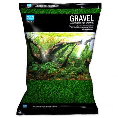 Písek AQUA EXCELLENT 1,6-2,2 mm zelený (3kg)