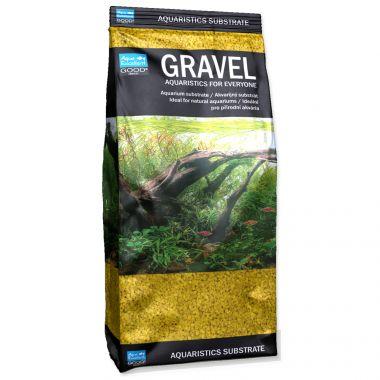 Písek AQUA EXCELLENT 1,6-2,2 mm žlutý (1kg)