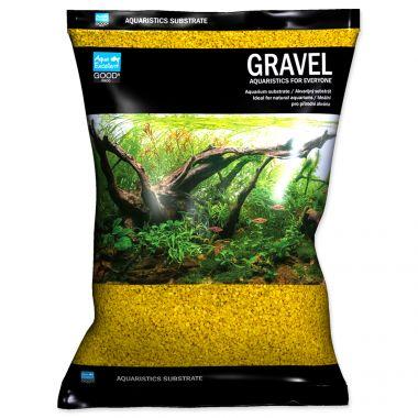 Písek AQUA EXCELLENT 1,6-2,2 mm žlutý (3kg)